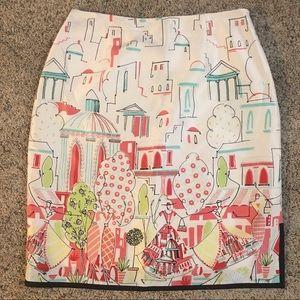 Grace Elements Silk Skirt Serendipity NWT Size 6
